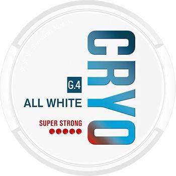 G.4 CRYO Slim All White Snus