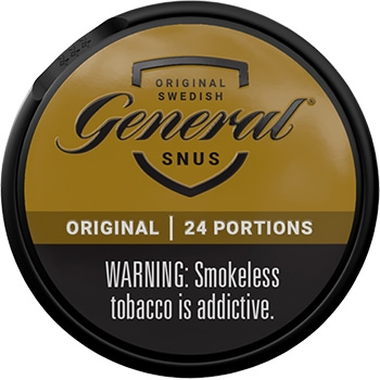 General Original Portion Snus