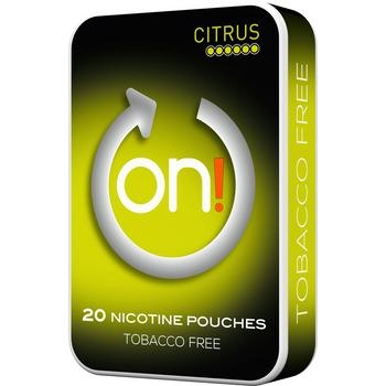 ON! Mint Citrus Chewing Bags New