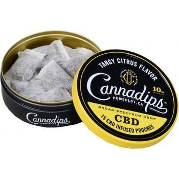 Cannadips Tangy Citrus Flavor 8.25g