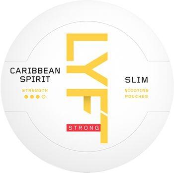 Lyft Caribbean Spirit Strong Slim Snus