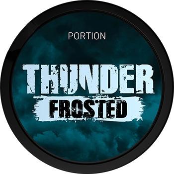Thunder Frosted Original Portion Snus