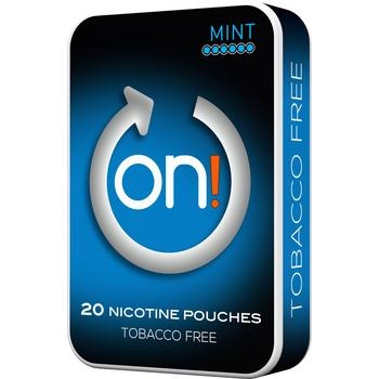 ON! Mint - White Chewing Bags New