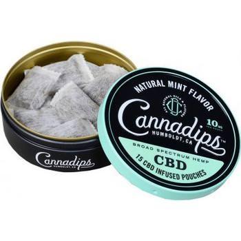 Cannadips Natural Mint Flavor 8.25g