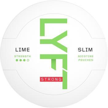 Lyft Lime Strong Slim All White Snus